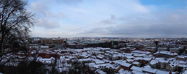 Erster Eindruck von Göteborg