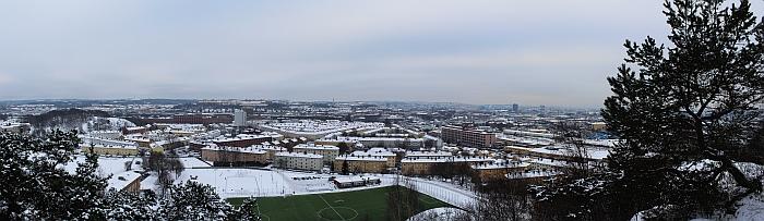 Panorama vom Hausberg