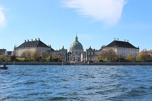 Schloss Amalienborg mit Marmorkirche