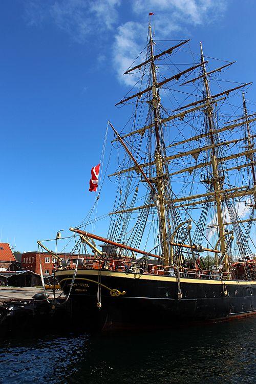Das Schulschiff der Dänischen Marine