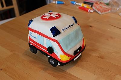 Rettungsautokuchen