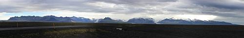 Panorama vom Vatnajökull