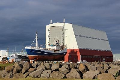 Werft in Keflavik
