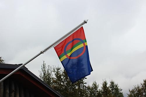 Fahne der Sami