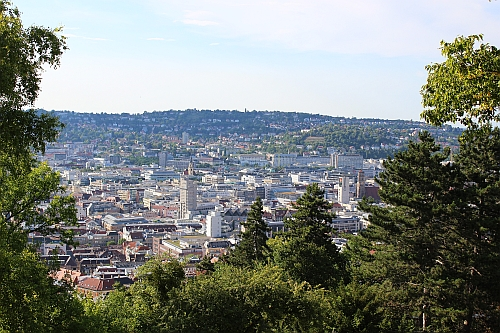 Blick über Stuttgart