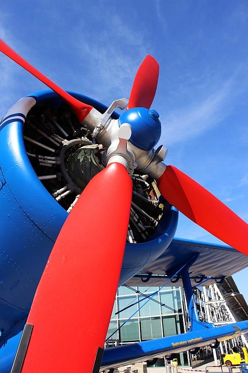 Flugzeugmuseum am Flughafen